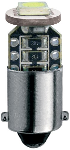 Simoni Racing BAX9S 1-LED 3W Canbus Ampoules - Ultrablanc - Set de 2 pièces
