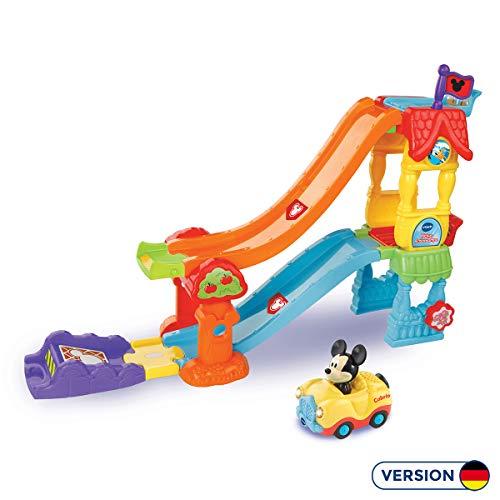 Vtech 80-511804 TUT Baby Mickys Actionrampe Flitzer Fahrzeuge Babyauto, bunt