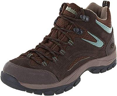 Northside Women's Pioneer Hiking Boot, Dk Brown/Sage, 8 B(M) US