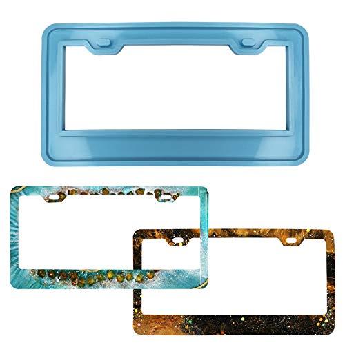 License Plate Frame Silicone Mold Resin Mold Rubber Mold DIY-PORPOR BOOYA
