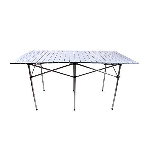 GYH zhuozi LJHA Table Pliante/Table portative extérieure/Table Pliante Ultra-légère à la Maison/Table multifonctionnelle en Aluminium Table