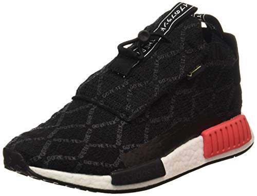adidas NMD_ts1 PK GTX, Zapatillas de Gimnasia Hombre, Negro (Core Black/Carbon/Shock Red Core Black/Carbon/Shock Red), 44 2/3 EU