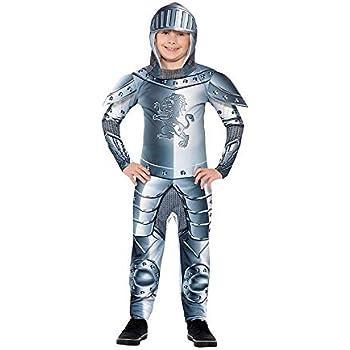 DISBACANAL Disfraz Caballero de Armadura para niño - -, 10-12 años ...