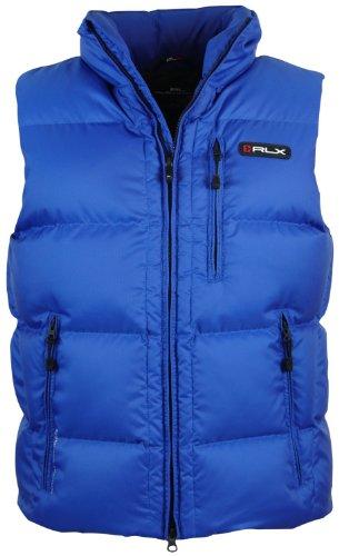 RLX Ralph Lauren Men's Down Jacket Vest XXL Blue