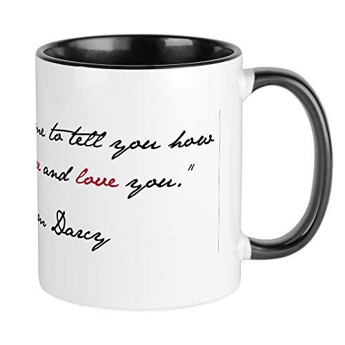 CafePress Mr Darcy Quote Mug Unique Coffee Mug Coffee Cup