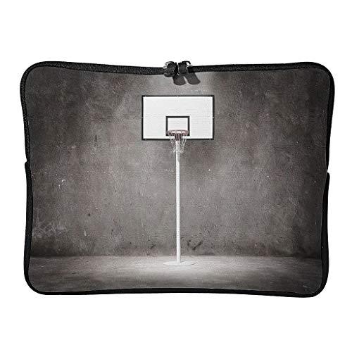Bolsa para ordenador portátil con neumáticos de baloncesto estándar y multifuncional, ideal para exteriores