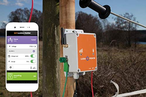 GSM Überwachungssystem HORIZONT Luda Zaunsensor Fencealarm, Fence Alarm App, Zaunalarm Weidezaun Elektrozaun