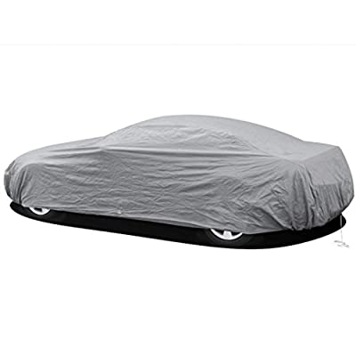 Iuhan® Fashion Waterproof Full Car Cover Sun UV Snow Dust Rain Resistant Protection Size S M L XL 2XL New