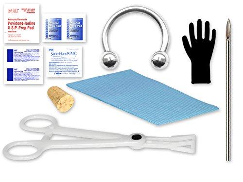 Single Septum Piercing Kit - 14 Gauge by Superior Tattoo Equipment