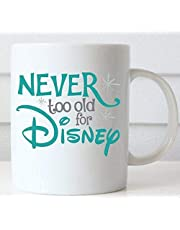 never to old for Disney Coffee Cup