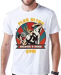 Camiseta Boku no Hero Academia Blusa Anime Camisa All Might