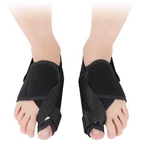 Ortopedia del pie Pulgar del Dedo Gordo Corrector de la eversión Calentador automático Lady Bigfoot Bone Toe Eversion Splitter