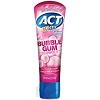 Act Kids Bubblegum Blowout Toothpaste, 4.6 Ounce