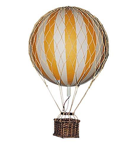 Authentic Models - Dekoballon - Ballon - Farbe: Gelb - 8 cm