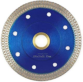 4 Inch Tile Blade,Stylish Y&I Porcelain Blade Super Thin Ceramic Diamond Saw Blades for Grinder Dry or Wet Tile Cutter Disc With Adapter 7/8