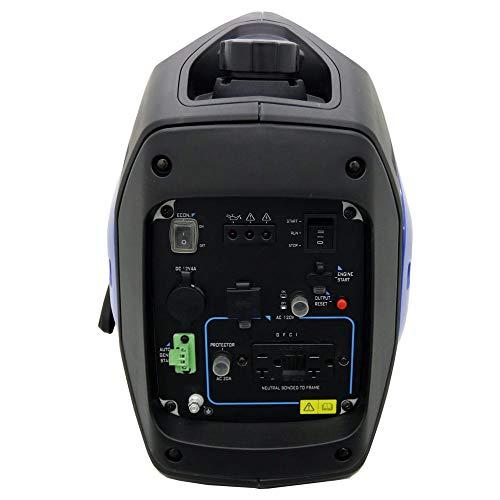 AIMS Power 2000 Watt Generator, 120V AC, CARB, Electric & Recoil, 50 lb, Includes Electric Start Battery, no Wheels Generators