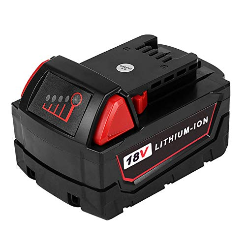 18V 6.0Ah Extended Capacity Battery, M18 Spare Lithium Battery for Cordless Power Tools