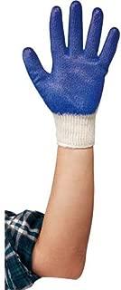 川西工業 グローブマニア ゴム引手袋 5双組 ブルー フリー 【ゴム引き手袋】 #2903
