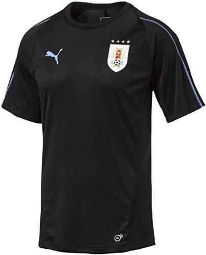 PUMA Uruguay Mens Training Jersey (M) Black