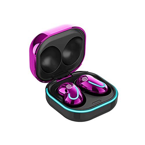 Auriculares Bluetooth, Audífonos Inalámbricos con Micrófono, Teléfono Móvil Universal, IPX4 A Prueba De Agua, Auriculares Estéreo HI-FI, Pantalla LED para El Trabajo/Deportes/Juego