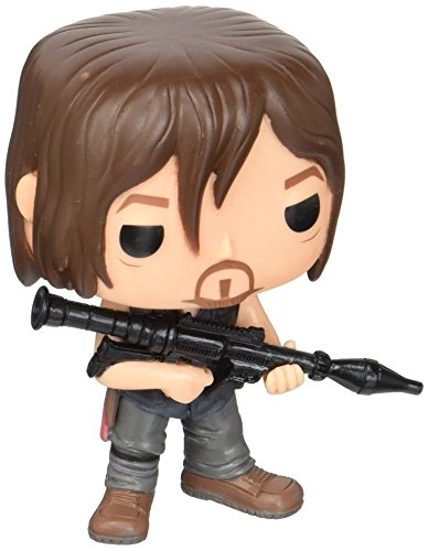 Funko 11065 Actionfigur The Walking Dead: Daryl mit Rocket Launcher, Standard