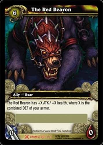 World of Warcraft Drums of War WOW Single Card The rot Bearon 3 3 LOOT [Toy]
