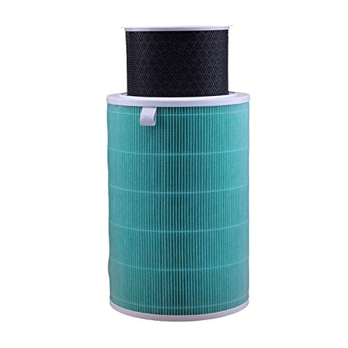 Migaven HEPA Filter Activated Carbon Filter Cartridge Replacement Accessories Compatible with Xiaomi Mijia Mi Air Purifier