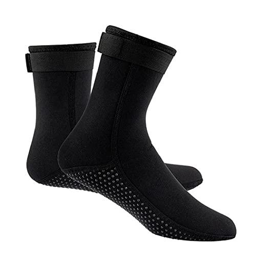 Agua Termal De Calcetines De Deporte Calcetines De Neopreno De 3 Mm De Calcetines De Agua para Las Mujeres De Los Hombres Antideslizante De Los Zapatos De Agua