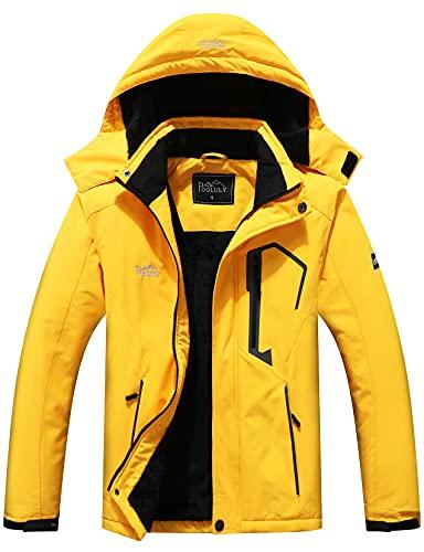 Men's Ski Waterproof Hooded Windbreaker Only $31.49 (Retail $69.99)