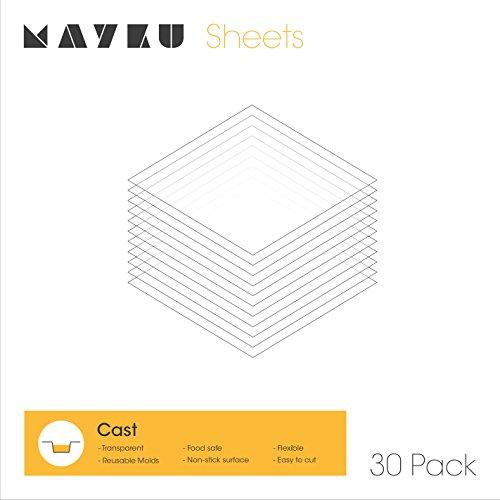 Mayku Gussblätter 30er Pack für die Mayku FormBox: ein Vakuumformer für den Schreibtisch, der Ihre Ideen zum Leben erweckt.