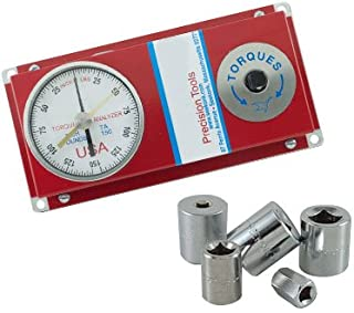 YUIOP 1//2 Torque Angular Gauge with Wrench Drive Torque Angle Meter Tool Torque to Yield Gauge Torque Adapter
