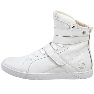 Heyday Footwear Men's Super Shift Fashion Hi Top Sneaker,White,9 M