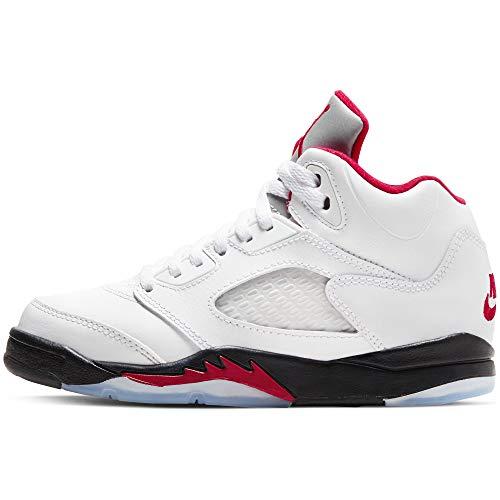 Nike AIR JORDAN 5 RETRO (PS) Größe: EU28 Farbe: FIRE RED