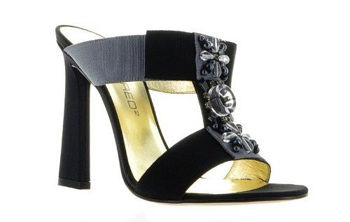 DSQUARED2 Dsquared Black Leather Shoes, 36, Black