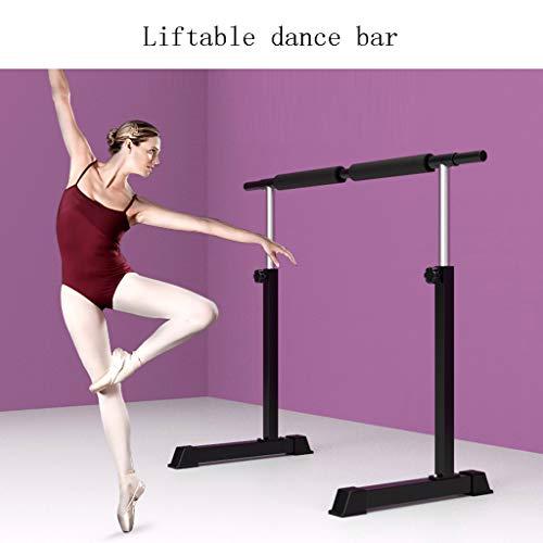 Wall Sculptures Ballet Equipment Wood Ballet Barre Freestanding Ballet Portable Ballet Barre Double Ballet Bar for Home Yoga Studio Great for home schools dance studios home fitness