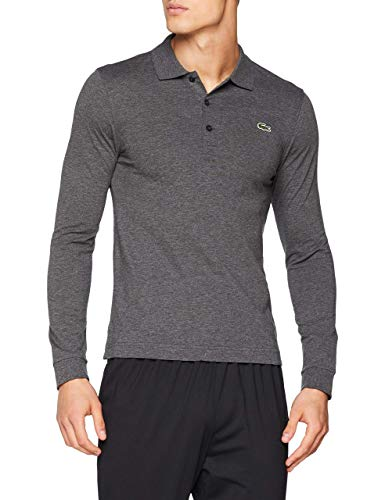 Lacoste YH9521 Polo, Bitume Chine, M Homme