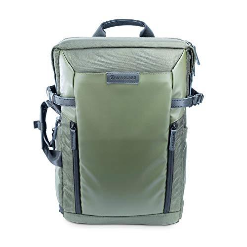 Vanguard Veo Select 45M GR - Mochila y Bolso 2 en 1, para Uso Fotográfico y Diario, Color Verde
