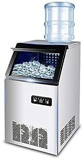 ZJZ Máquina para Hacer Hielo 2 en 1, máquina para Hacer Hielo, Limpieza automática, encimera Comercial portátil de Alta de...