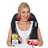 Donnerberg® München Shiatsu Neck Massager Neck Shoulder Massage + Effective Vibration 4D Neck Massager