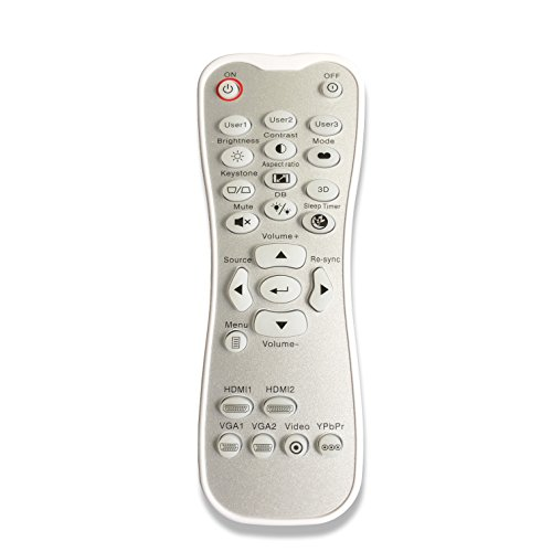 Remote Control for Optoma Projector HD26 GT1080 GT1070X HD141X DH1008 HD37 HDF536 HDF537ST HD200D EH200ST with Backlignt