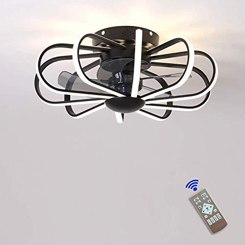 Ventilador de techo NEWGA Control remoto regulable de 3 velocidades de viento ajustable 36W Moderno para dormitorio Sala de estar
