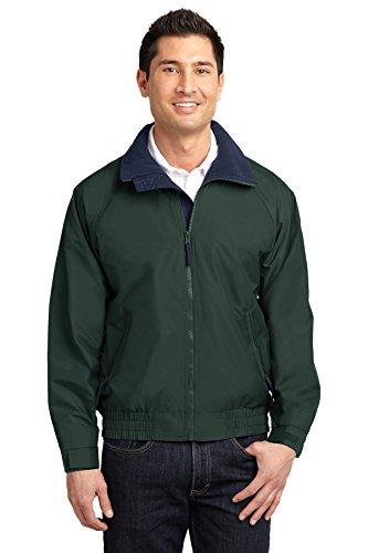 Port Authority® Competitor™ Jacket. JP54 True Hunter/ True Navy 6XL