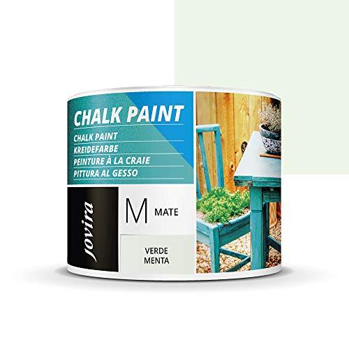 Pintura A La Tiza Verde Menta Marca JOVIRA PINTURAS