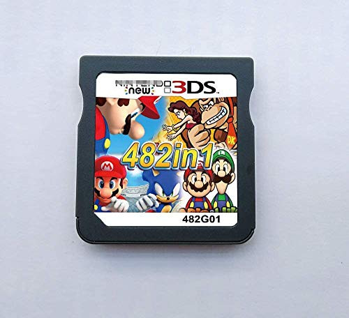 Cartucho de juego 482 en 1 multicart, tarjeta de juego compatible con Super Combo NDS DS 2DS New 3DS XL