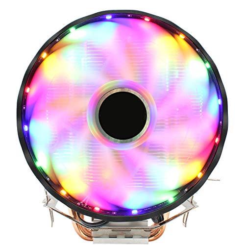 lizeyu 4 tubo de cobre CPU radiador ventilador ultra silencioso de la fan de la ultima generación de 12CM3