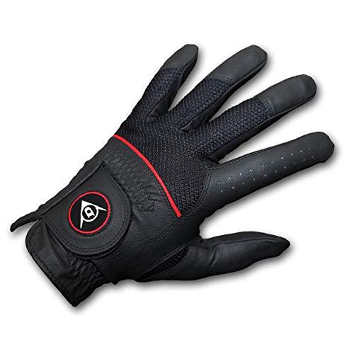 Dunlop Herren Golfhandschuh Tour Pro 2012, Linke Hand für Rechtshänder, schwarz, Gr. M/L