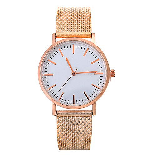 SANDA Reloj Mujer,Reloj de Pulsera Reloj en Reloj de Mujer-Oro Rosa