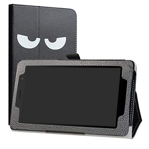 Alcatel 1T 7 Inch Funda,LiuShan Folio Soporte PU Cuero con Funda Caso para 7' Alcatel 1T 7 Inch 8068(Not fit Alcatel 1T 8082 10inch) Android Tablet,Don't Touch