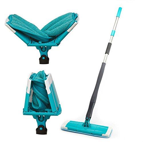 mop sistema giratorio 360spin Twist Agua Mop Mop Spray para la limpieza...