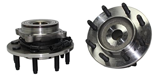 Detroit Axle 515101 Front Wheel Hub and Bearings Assembly 8-LUG 4x4 w/ABS for Dodge Ram 1500 2500 3500 2006 2007 2008